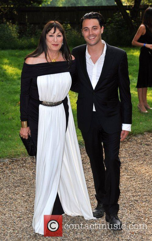 Angelica Huston and guest Raisa Gorbachev Foundation Party...