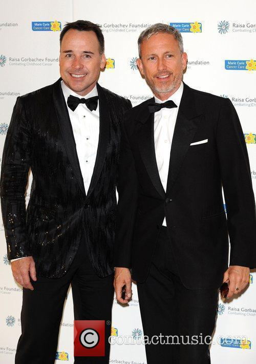David Furnish and Patrick Cox 11