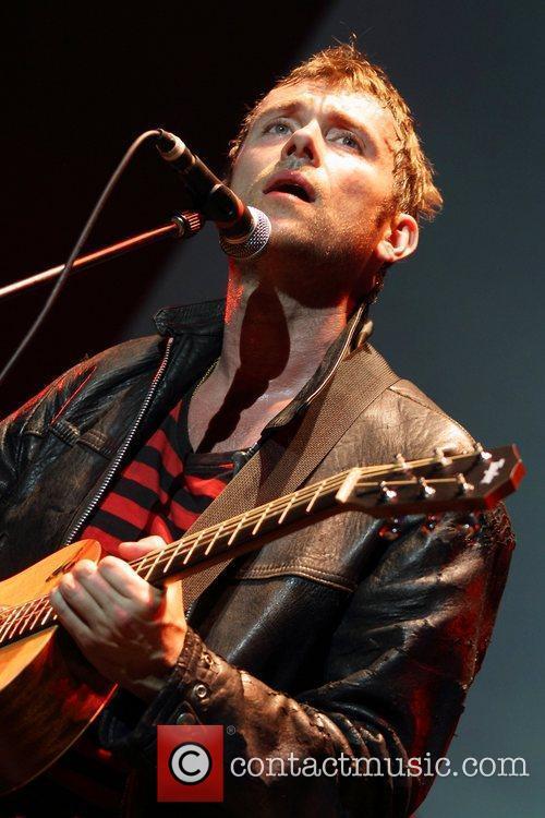 Damon Albarn and The Gorrilaz  perform live...