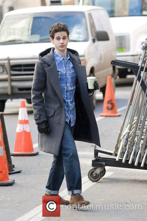 Connor Paolo The cast of 'Gossip Girl' filming...