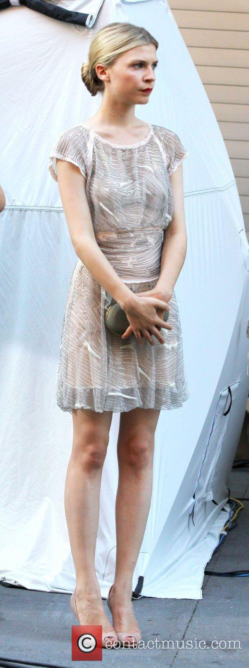 Clemence Poesy and Gossip Girl 8