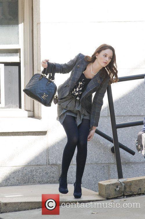 Leighton Meester and Gossip Girl 3