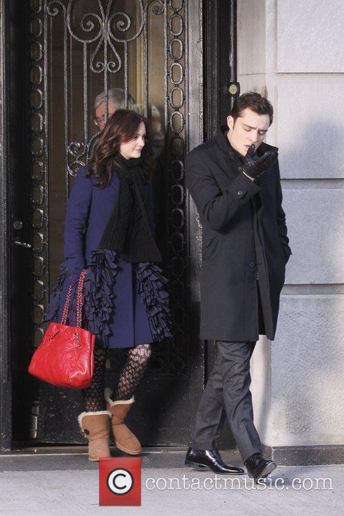 Leighton Meester and Ed Westwick 3