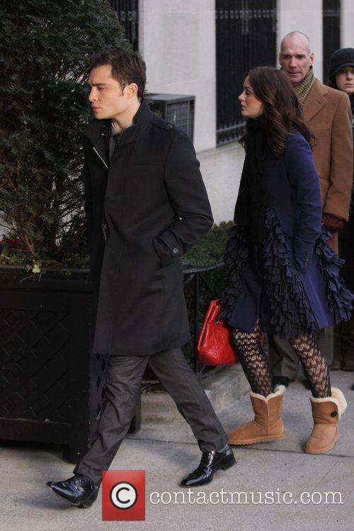 Leighton Meester and Ed Westwick 9