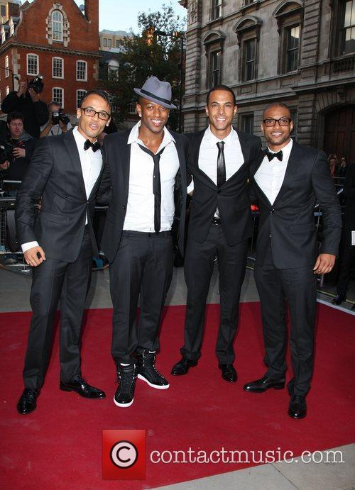 Jls, Aston Merrygold and Jonathan Gill 2