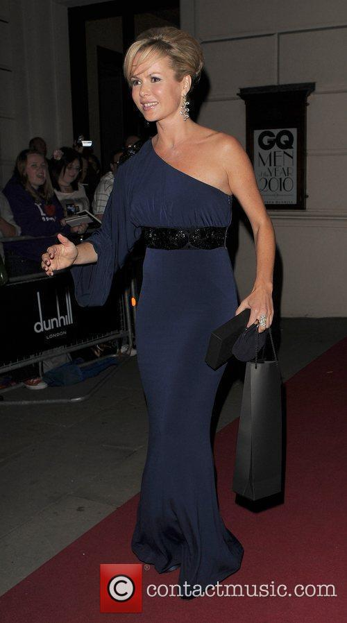 Amanda Holden leaving the GQ Man of the...