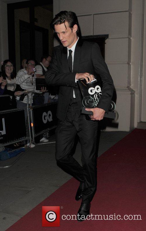 Matt Smith leaving the GQ Man of the...