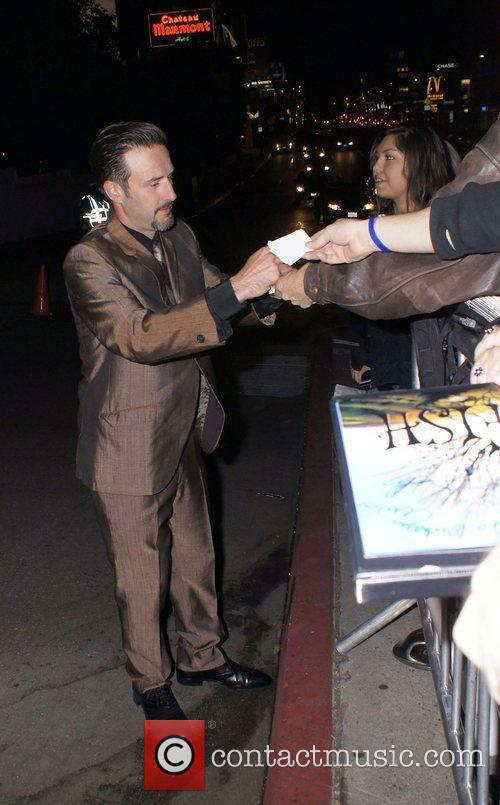 David Arquette  celebrities outside Chateau Marmont after...