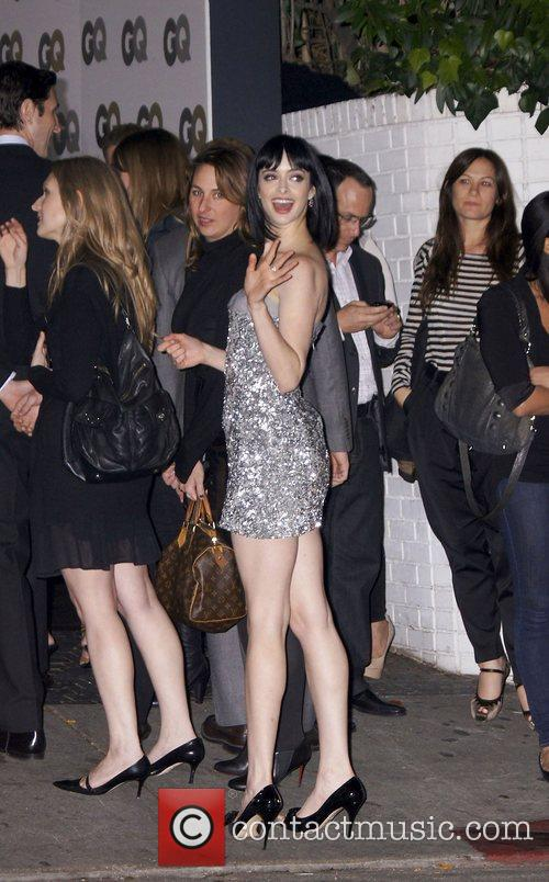 Celebrities outside Chateau Marmont after attending a GQ...