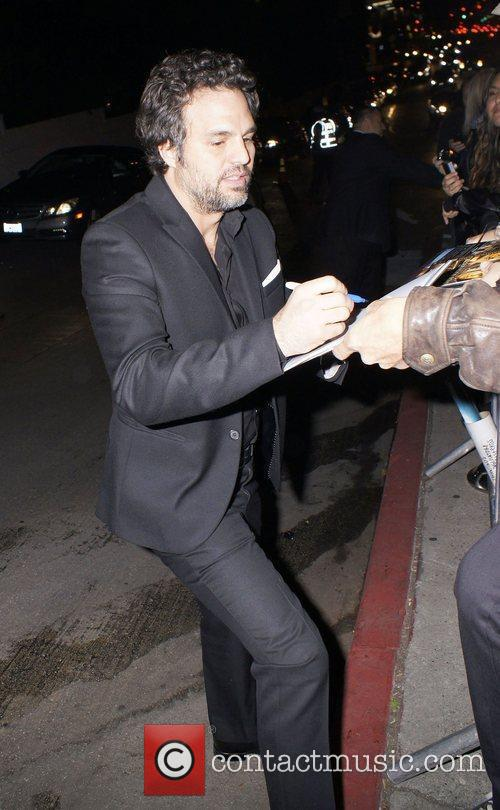 Mark Ruffalo  celebrities outside Chateau Marmont after...