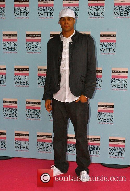 Ashley Banjo of Diversity Graduate Fashion Week 2010...