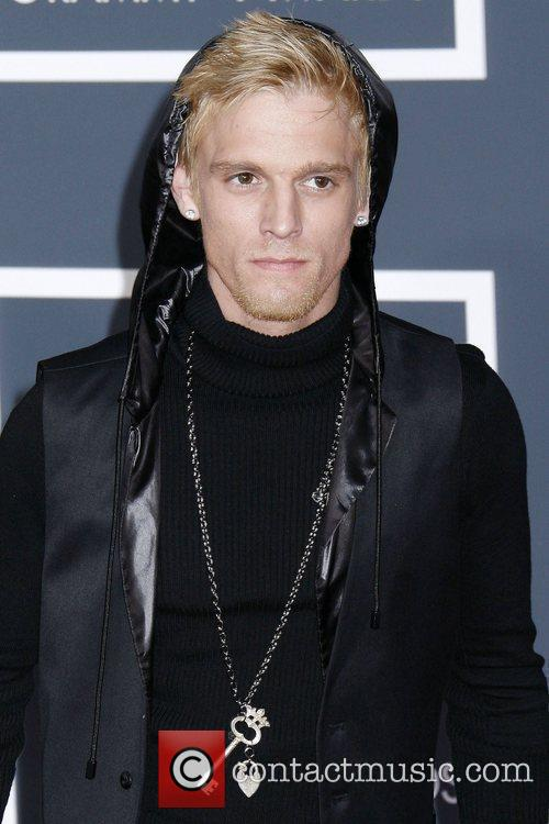 Aaron Carter 52nd Annual Grammy Awards held at...