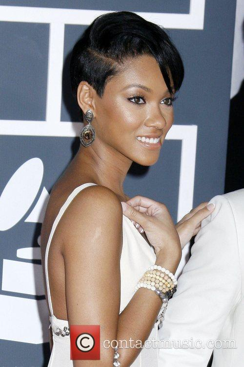 Bria Murphy 52nd Annual Grammy Awards held at...