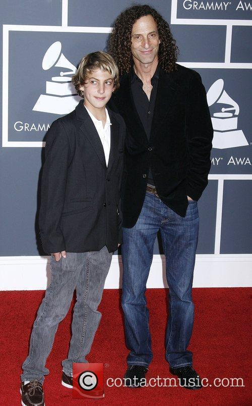 Kenny G and guest 52nd Annual Grammy Awards...