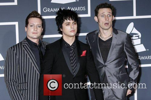 Tre Cool, Billie Joe and Mike Dirnt of...