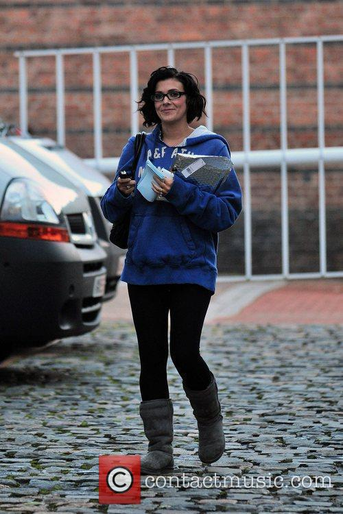 Kym Marsh Celebrities arriving at the Granada Television...