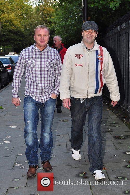 Simon Gregson and Steven Arnold