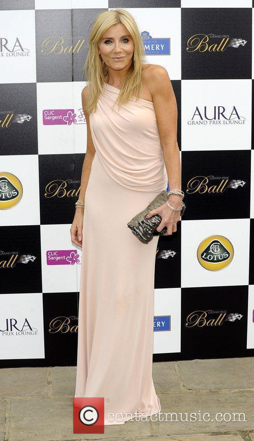 Michelle Collins The Grand Prix Ball at The...