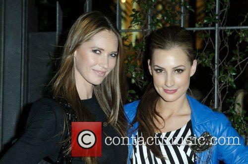 Nikki Phillips and Laura Dundovic Grazia magazine hosts...