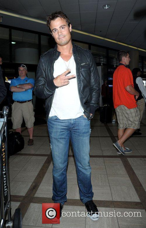 Gregory Michael arrives at LAX airport Los Angeles,...