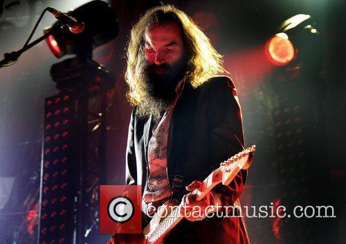 Warren Ellis of Grinderman performing at the Manchester...