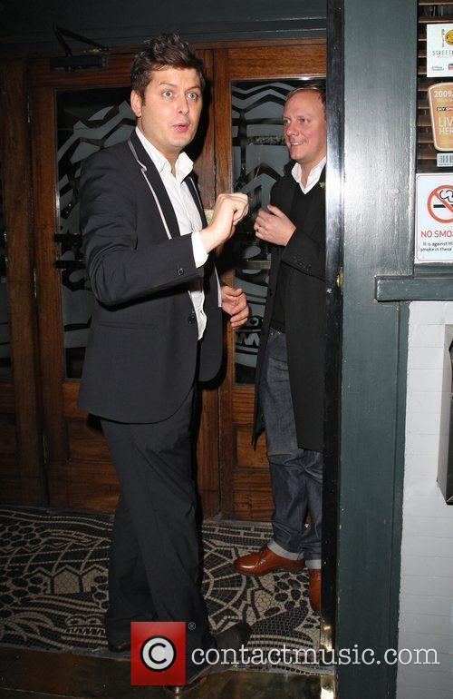 Brian Dowling and Antony Cotton at the Groucho...