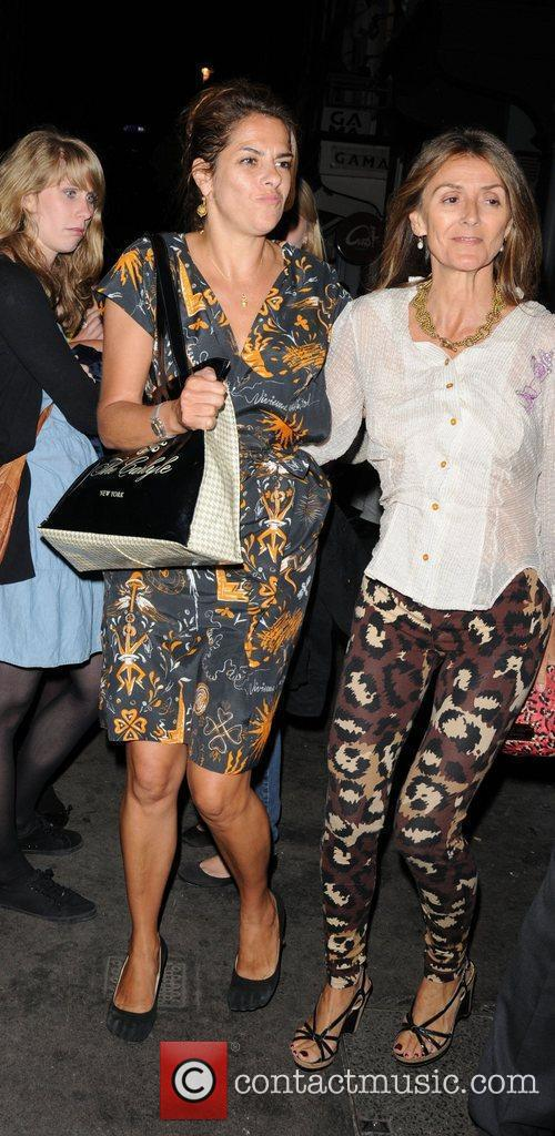 Tracey Emin leaves The Groucho Club  London,...