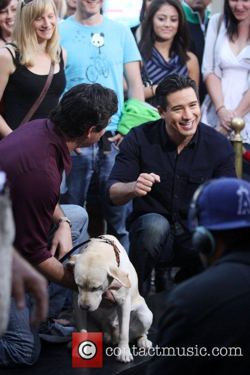 Dean Cain and Mario Lopez 10