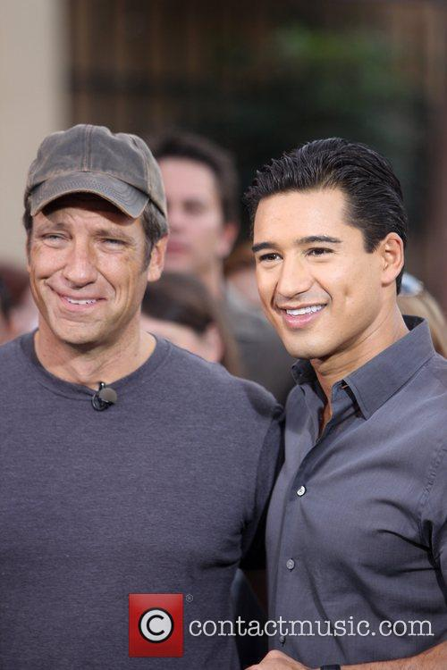 Discovery and Mario Lopez 4