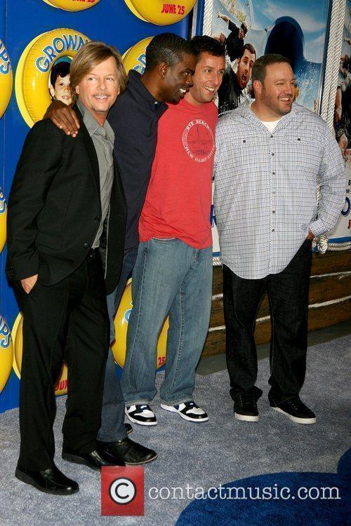 David Spade, Adam Sandler and Chris Rock 2