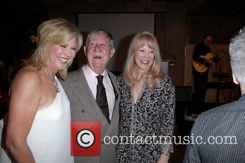 (l-r) Kerri-Anne Kennerley, Reg Grundy and Joy Chambers...