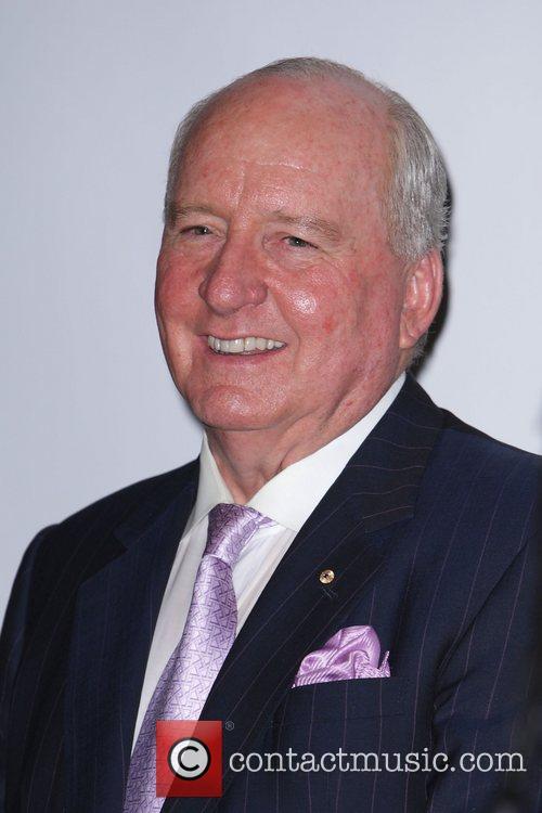 Alan Jones Australian media mogul Reg Grundy launches...
