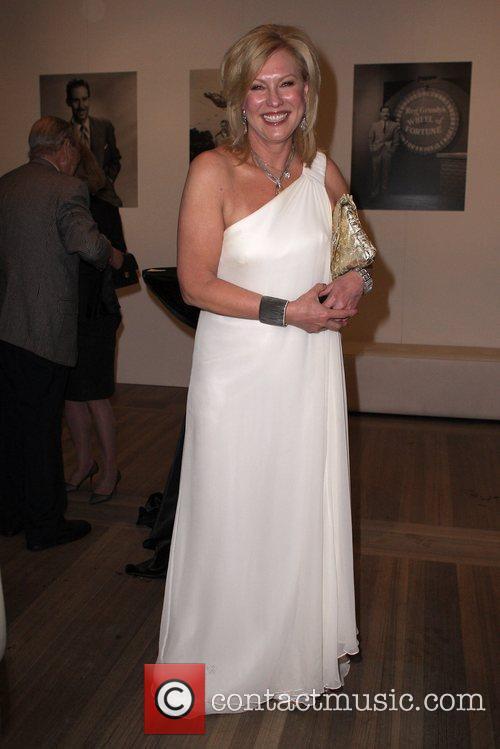 Kerri-Anne Kennerley Australian media mogul Reg Grundy launches...