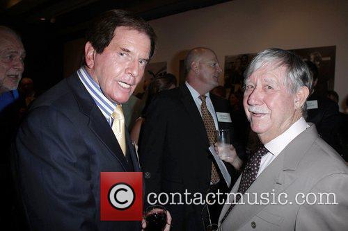 John Burgess (left) and Reg Grundy  Australian...