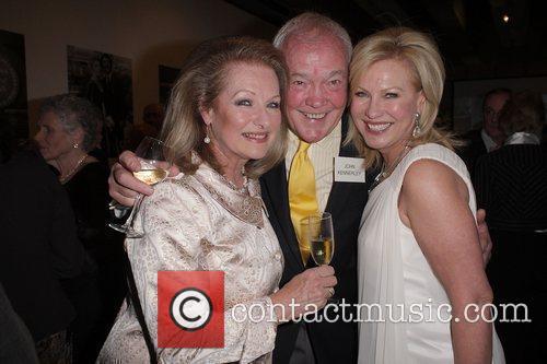 (l-r) Annette Alison, John Kennerley and Kerri-Anne Kennerley...