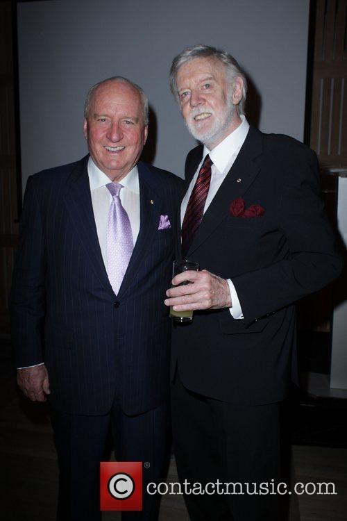 Alan Jones and Barry Crocker Australian media mogul...