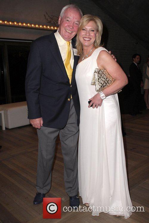 Kerri-Anne Kennerley and John Kennerley Australian media mogul...