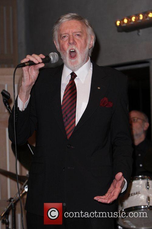 Barry Crocker Australian media mogul Reg Grundy launches...