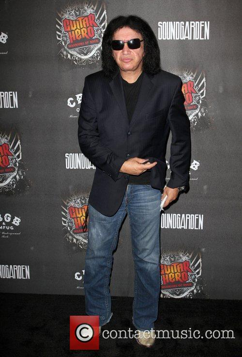 Gene Simmons 'Guitar Hero: Warriors Of Rock' Launch...