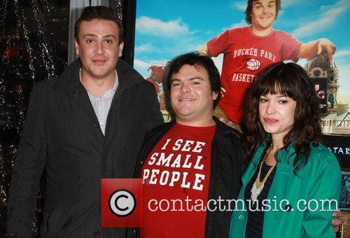 Jason Segel, Jack Black and Tanya Haden 6