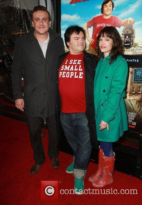 Jason Segel, Jack Black and Tanya Haden 7
