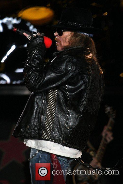 Axl Rose and Guns N Roses 6