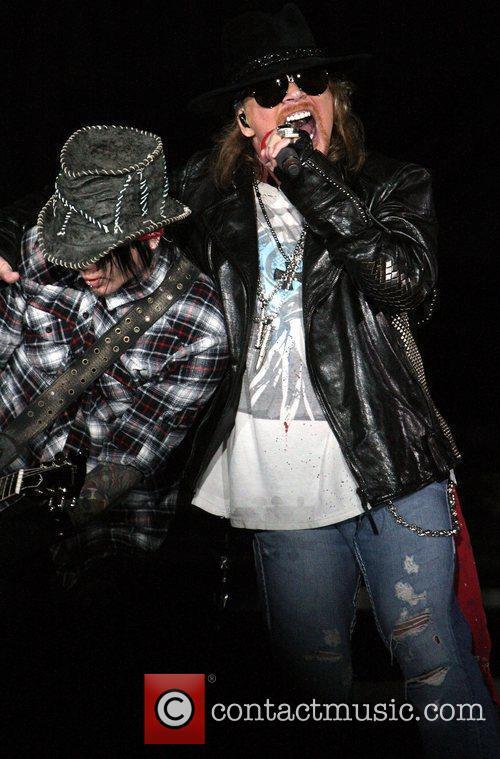 Axl Rose and Guns N Roses 13