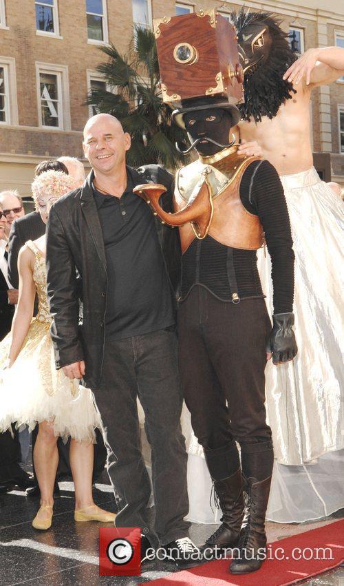 Guy Laliberte from 'Cirque Du Soleil' receives a...