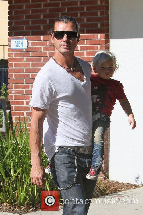 Gavin Rossdale and Gwen Stefani 8