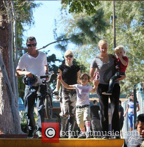 Gwen Stefani and Gavin Rossdale 4