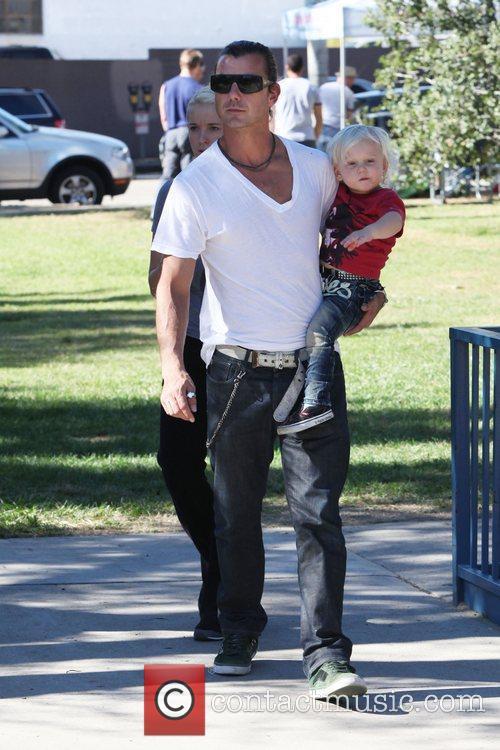 Gavin Rossdale and Gwen Stefani 11
