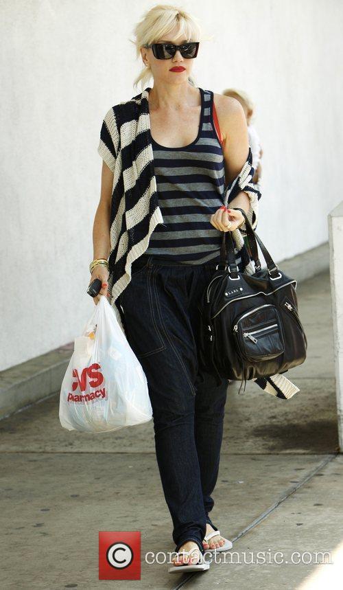 Gwen Stefani shopping at CVS Pharmacy in Hollywood