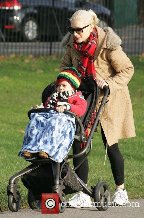 Gwen Stefani taking her son Kingston Rossdale for...
