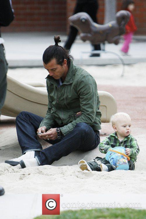 Gavin Rossdale and Son Zuma Rossdale 8